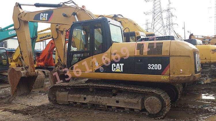 二手卡特320D挖掘機